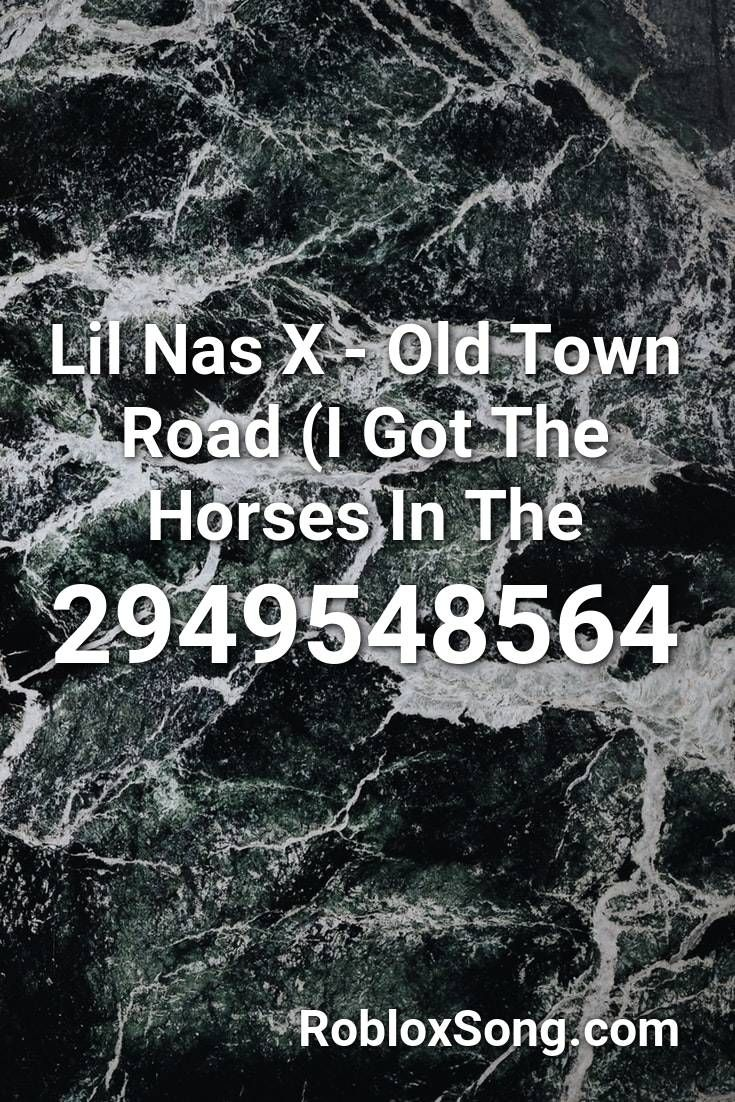 Old Town Road Id On Roblox