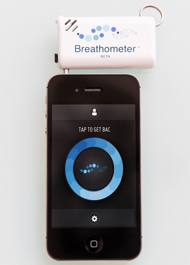 Have you had too much to drink? This smartphone breathalizer tells you if it's safe to drive home.