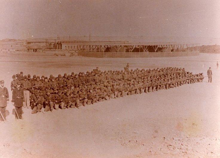 Batallon Civico de Artillería Naval, 4º Compañia  en Antofagasta