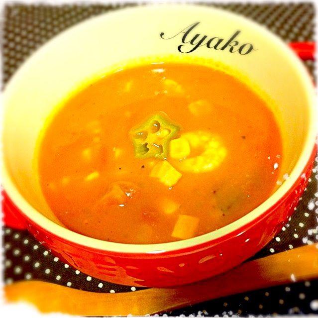 ピリ辛が美味しいガンボスープアメリカ南部料理のご紹介