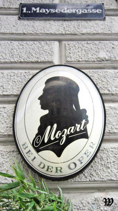 Cafe Mozart is a classic Viennese coffee house on the Albertinaplatz, Vienna, Austria.