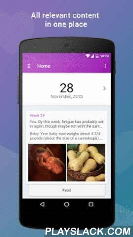 Pregnancy App Expertli (Free)  Android App - playslack.com ,  Features:► Pregnancy Calculator- Duedate, remained days, your current pregnancy week, expected baby zodiac and birth season, day of week and your expected age :)► Weekly Information- Get weekly