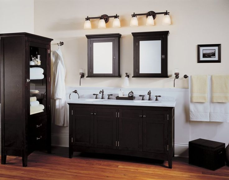 107 Best Bathroom Lighting Over Mirror Images On Pinterest: Best 25+ Black Bathroom Vanities Ideas On Pinterest
