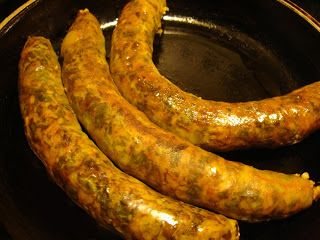 Osban is a traditional Libyan sausage, stuffed with a mixture of rice and herbs, as well as chopped lamb meat, liver and heart. Osban m...