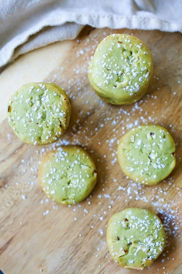 Маття печенье с миндалем 3 | японские рецепты