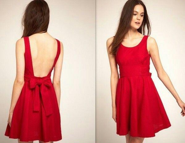 Vestido rojo sexy