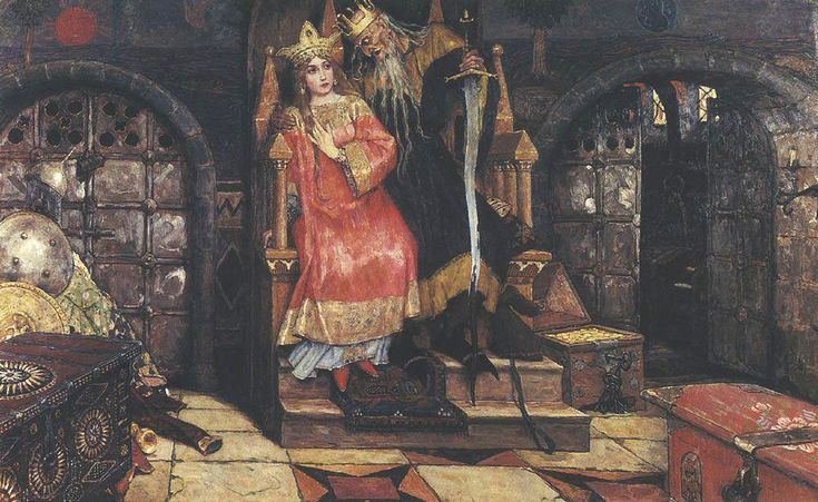 Виктор Васнецов. Кащей Бессмертный. Victor Vasnetsov. Kashchei the Immortal. Koshchei the Deathless | Русские художники. Russian Artists