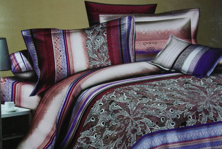 Don't give a second thought in ordering this pretty Bed Linen Set as it is just perfect to add the beauty and freshness to your bedroom.The beauty and charm of this Bed Linen Set lies in the unique combination of colors and design which will co-ordinate well with all interior types.The matching pillow cases makes it more beautiful. The size of this Bed Linen is 305*305cm which is perfect for King and even Super King size Bed.Made of fine quality cotton fabric makes it easy to wash and…