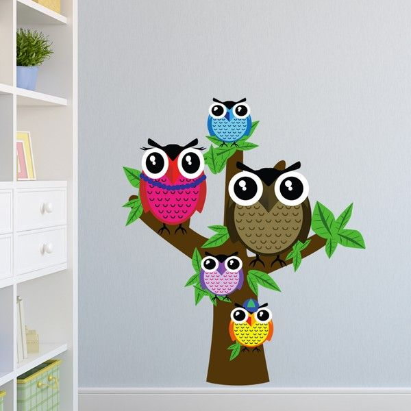 Gufi su albero