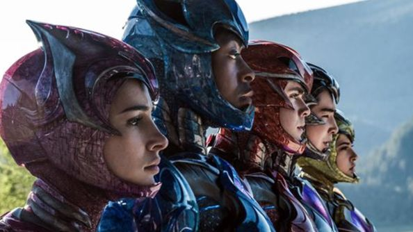 Power Rangers Look Ready In New Uniform Picture