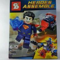 Bricks Lego Merk SY Superman / Lego Bootleg / Lego SY Heroes Assemble