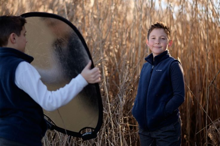 how to use a reflector by Michelle Turner