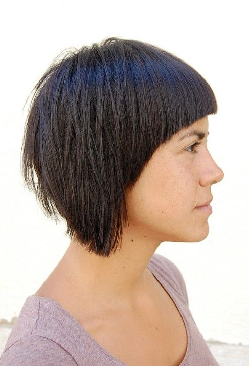 9 best bold, geometric cuts :) images on pinterest | short bobs