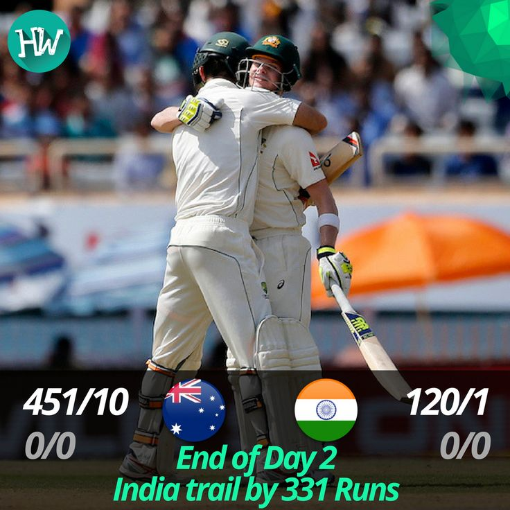 And that's stumps on Day 2! What a day it has been. A complete run-fest! #INDvAUS #IND #AUS #cricket