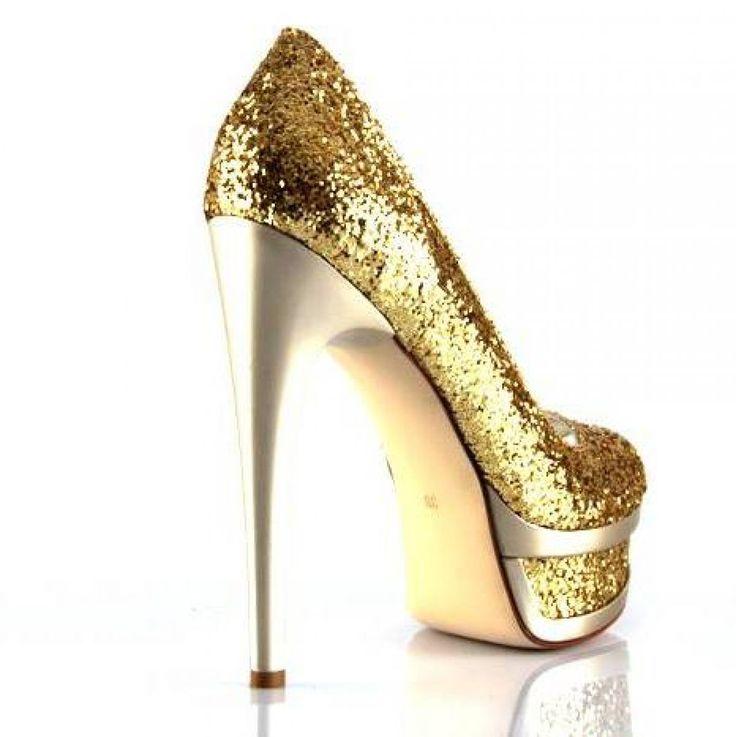 Ayakkabı Delisi, Ayakkabı Delisi Olanlar İçin Dore Gece Ayakkabıları Taşlı Fantazi Resimleri