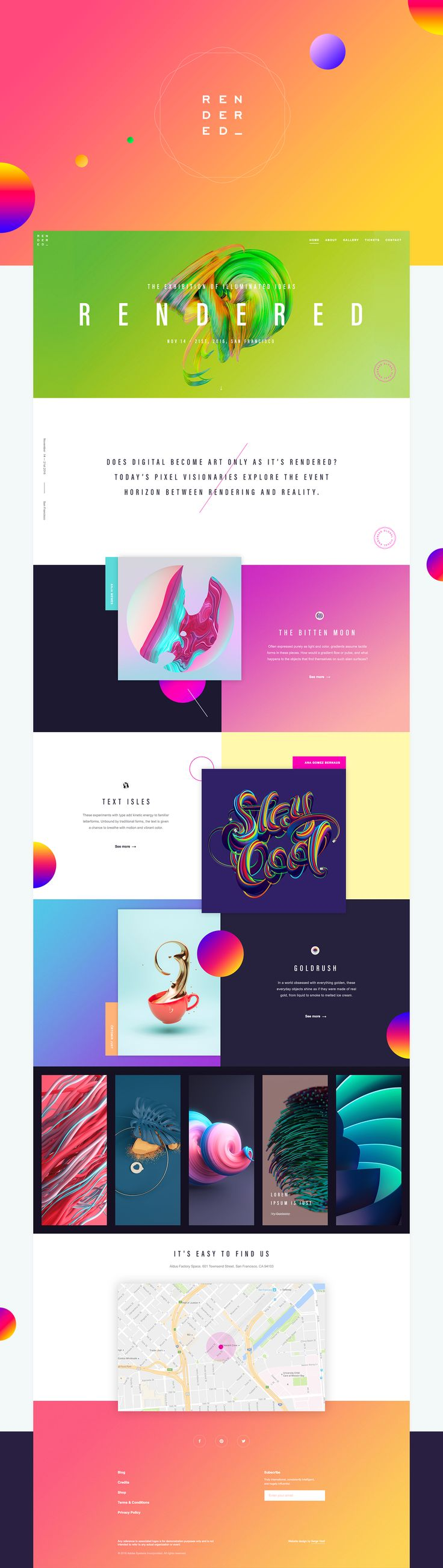 25 interfaces fraches pour votre inspiration ui designcreative web - Web Page Design Ideas