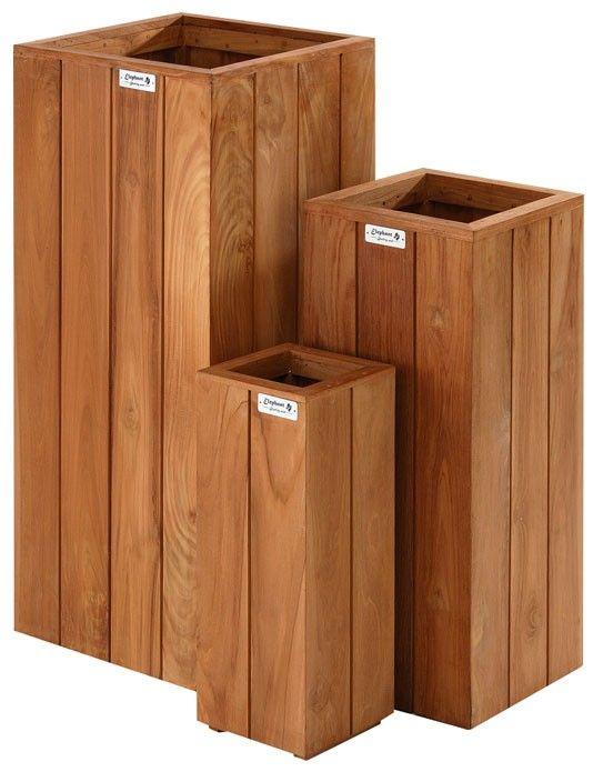 Luxury BambooGard Massiv Dielen Bangkirai xx mm BPC Terrassendielen Die langlebige alternative zu Holz auf Terrassen Balkon und Garten