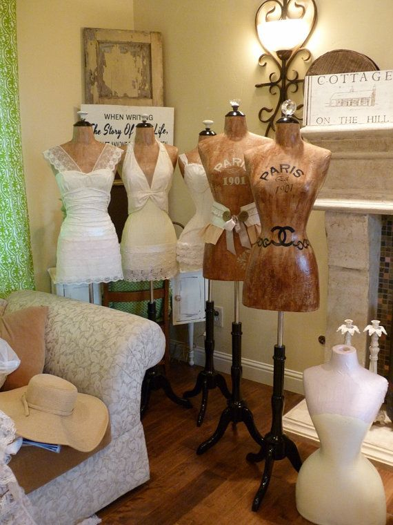 Dress Form Designer Fashion Mannequin Paris by autumnlady18, $319.00    For my sewing room(s)