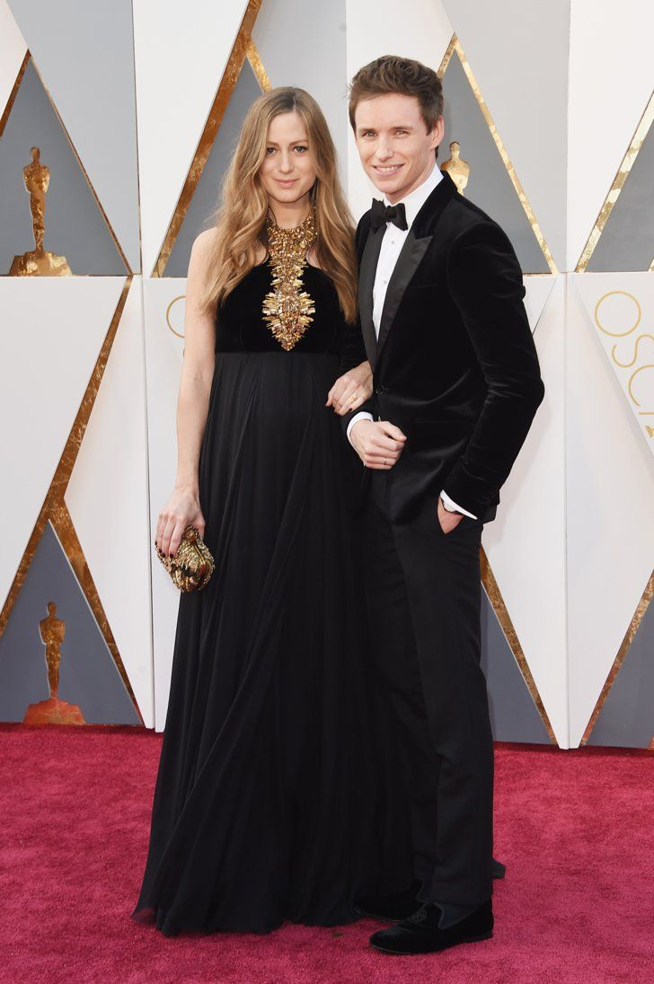 Pin for Later: These Celebrity Couples Heated Up the Red Carpet at the Oscars Eddie Redmayne and Hannah Bagshawe