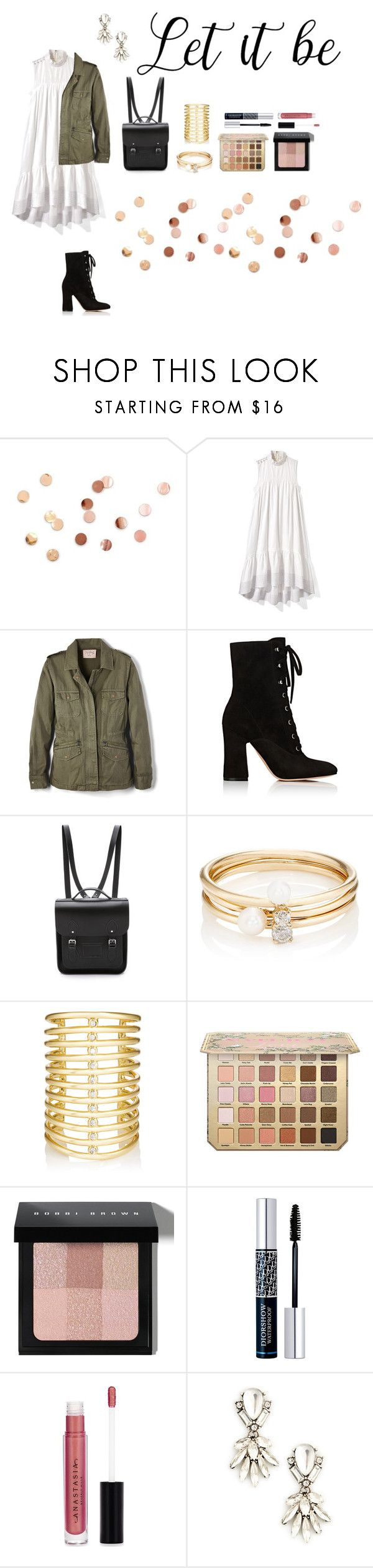 """""""Let it be"""" by hannahhocom ❤ liked on Polyvore featuring Umbra, 3.1 Phillip Lim, Velvet by Graham & Spencer, Gianvito Rossi, The Cambridge Satchel Company, Loren Stewart, Jules Smith, Bobbi Brown Cosmetics, Christian Dior and Anastasia Beverly Hills"""