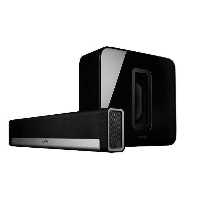 Sonos Playbar  sub zwart  Description: Sonos Playbar  SUB zwart De Sonos SUB en Playbar biedt je een geweldig geluid deze combinatie zorgt voor ultieme beleving. De Sonos SUB brengt je hele Sonos-systeem ongeëvenaard dicht bij de muziekbeleving zoals deze bedoeld is diep en intens. Sonos SUB vult je kamer met dikke lagen diep bodemloos geluid dat je niet alleen hoort maar vooral voelt. De Sonos soundbar is een geavanceerde alles-in-één speler en brengt HiFi-geluid naar je televisie…