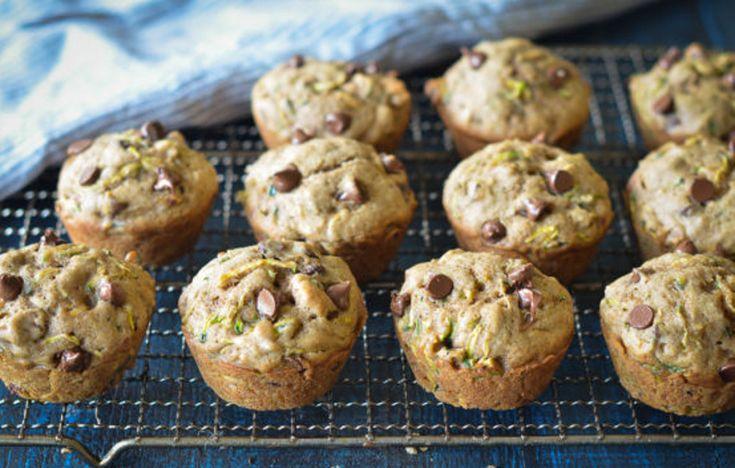 La recette facile de muffins aux zucchinis et chocolat