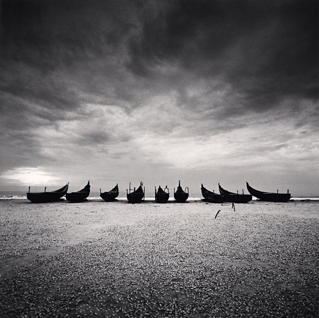 Nine Boats, Andakarnnazi Beach, Kerala, India. 2008