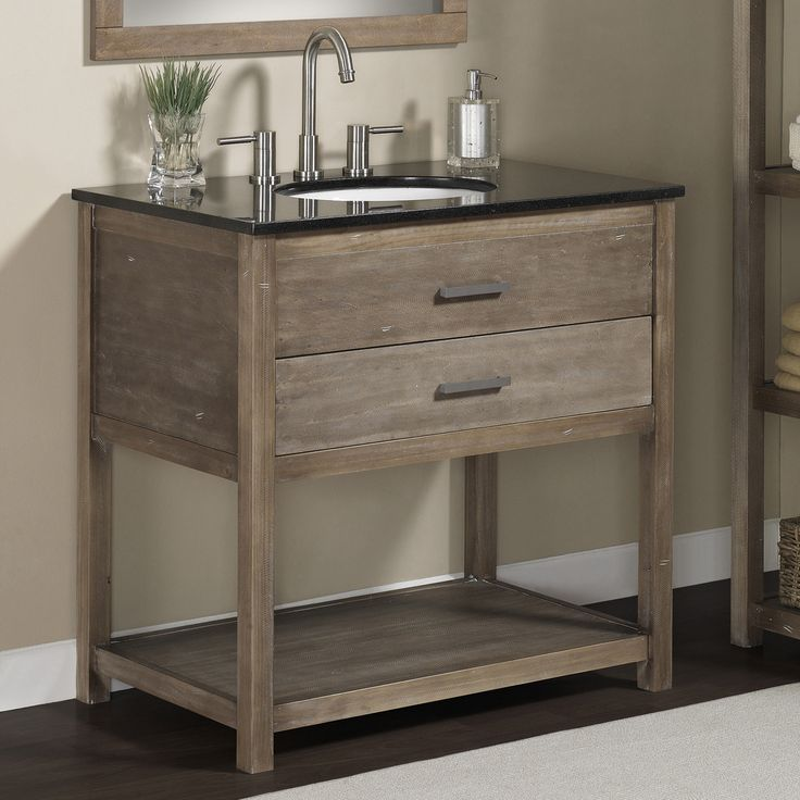 Elements 36 Inch Granite Top Single Sink Bathroom Vanity Great Deals Shopping And The O 39 Jays