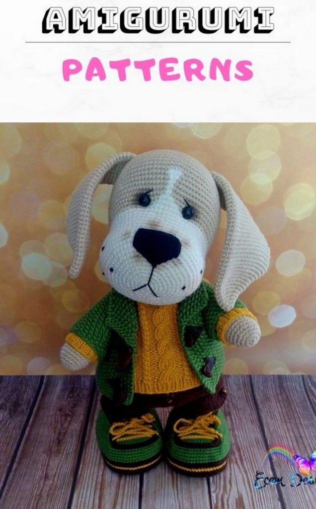 Best Amigurumi Dog Crochet Free Patterns - Amigurumi Patterns ... | 1024x636