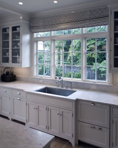 Kitchen Sink Bump Out: Love The Window And The Cabinets And Countertop