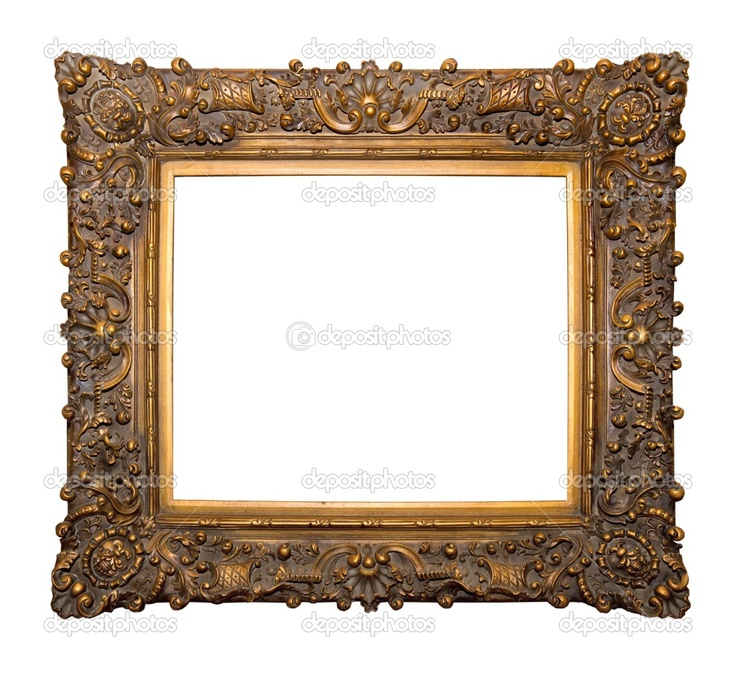 Antique Wooden Picture Frames | Ornamental frame | Stock Photo © Ciprian Dumitrescu #2332375