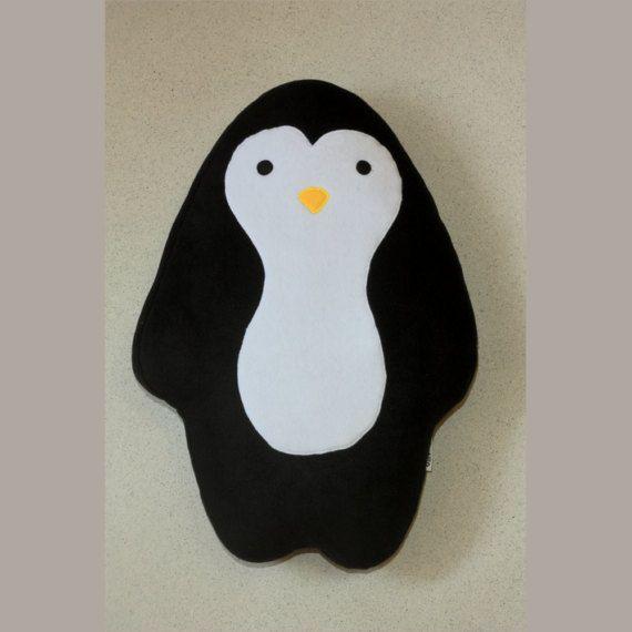 Penguin Pillow 23.6 60cm   Plushie  Plush Pillow   by Martilio