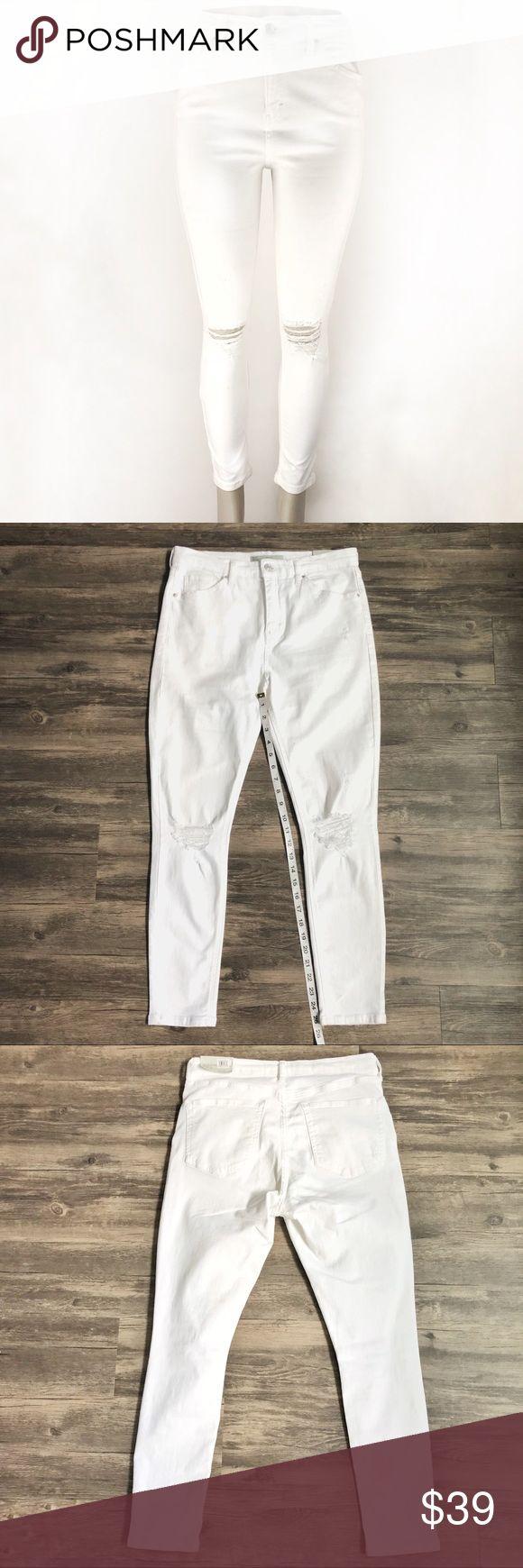 Moto Jamie High Waist Ankle Grazer Jeans!