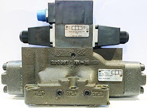 Bosch Rexroth Racine 657273 FD4 BSHS 706SD 62 110/115 Hydraulic Control Valve #BoschRexroth