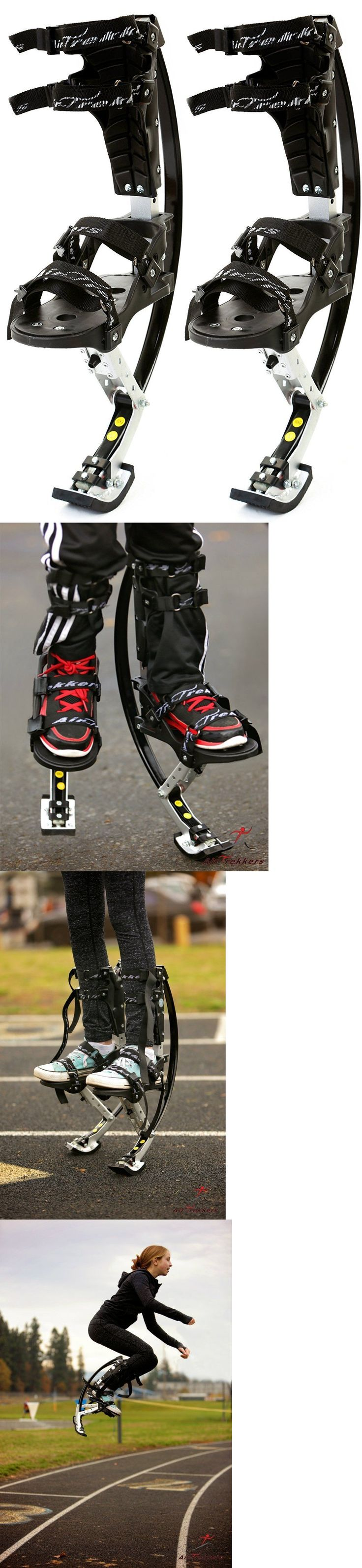 Other Outdoor Sports 159048: Air Trekkers Kids Jumping Stilts Spring Loaded Jump Shoes, Youth (L), 95-120 Lbs -> BUY IT NOW ONLY: $134.95 on eBay!