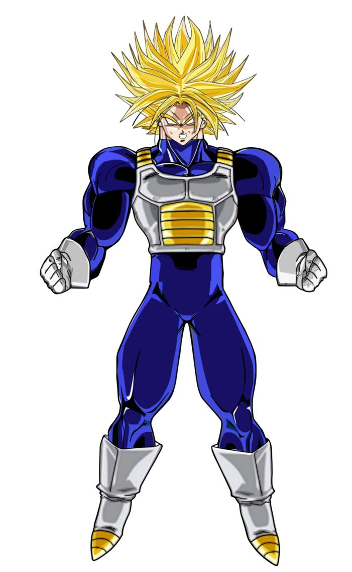 39 best animation coloring pages images on pinterest - Trunks super sayen ...