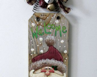 Muñecos de nieve de arte popular de la mano por barbsheartstrokes