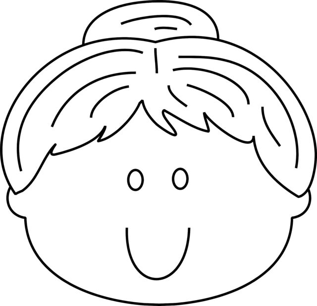 coloring book pages of childrens faces | Smiley Face Coloring Pages Happy Face Printable Coloring ...