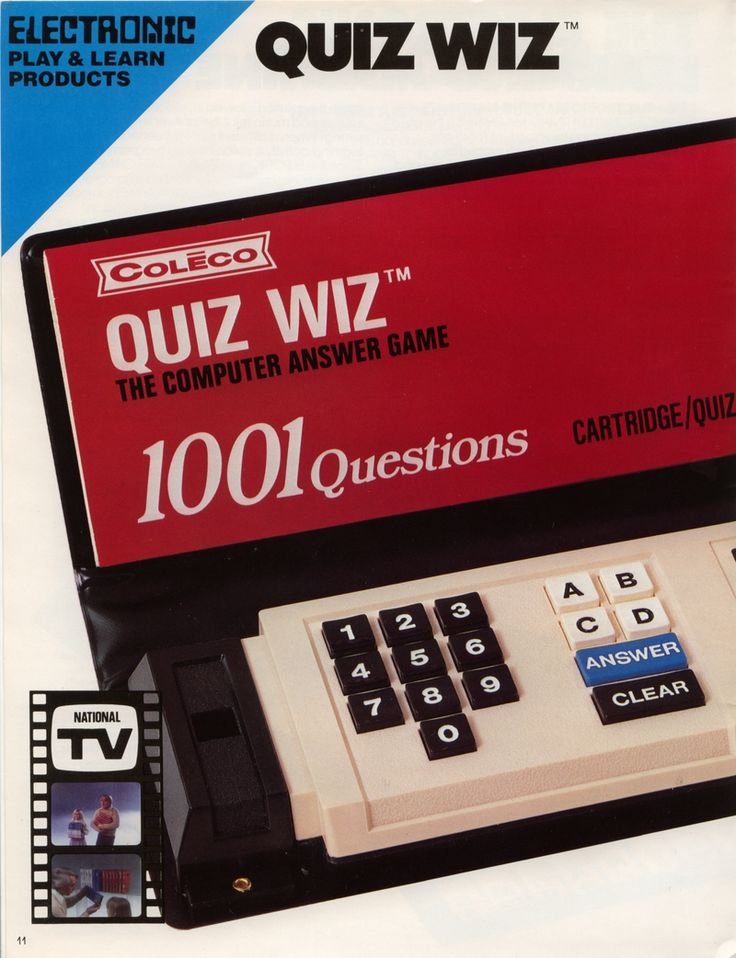 Quiz Wiz- my best friend had one of these. we played with it all the time