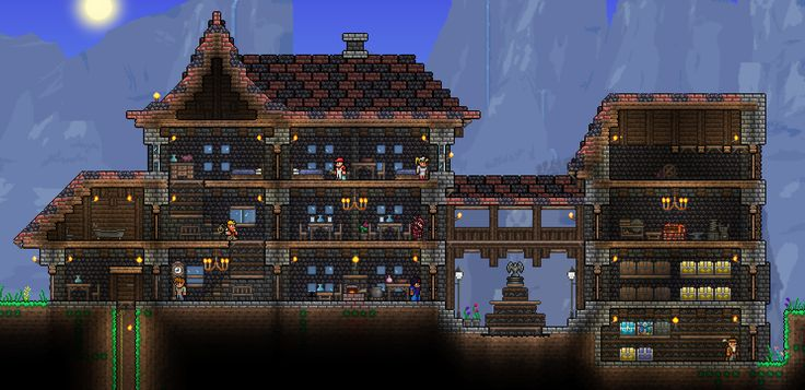 terraria house progress 2 by on