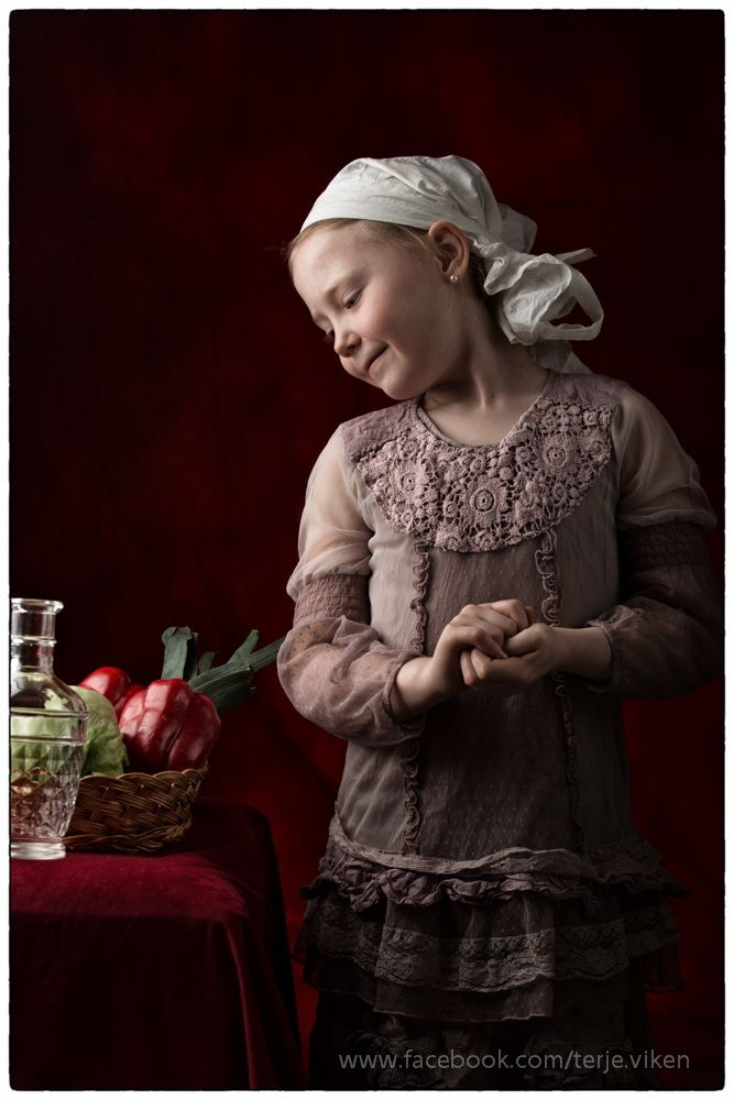 Maria (girl with earring) by Terje Viken on 500px
