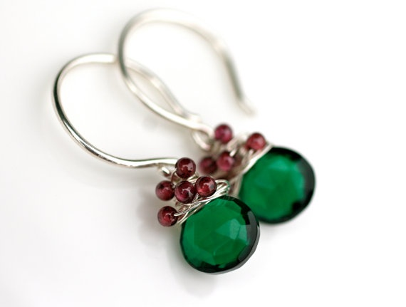 Christmas earrings. . .