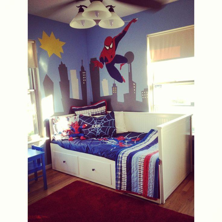 spiderman bedroom dallas texas bedroom ideas for jude pinterest