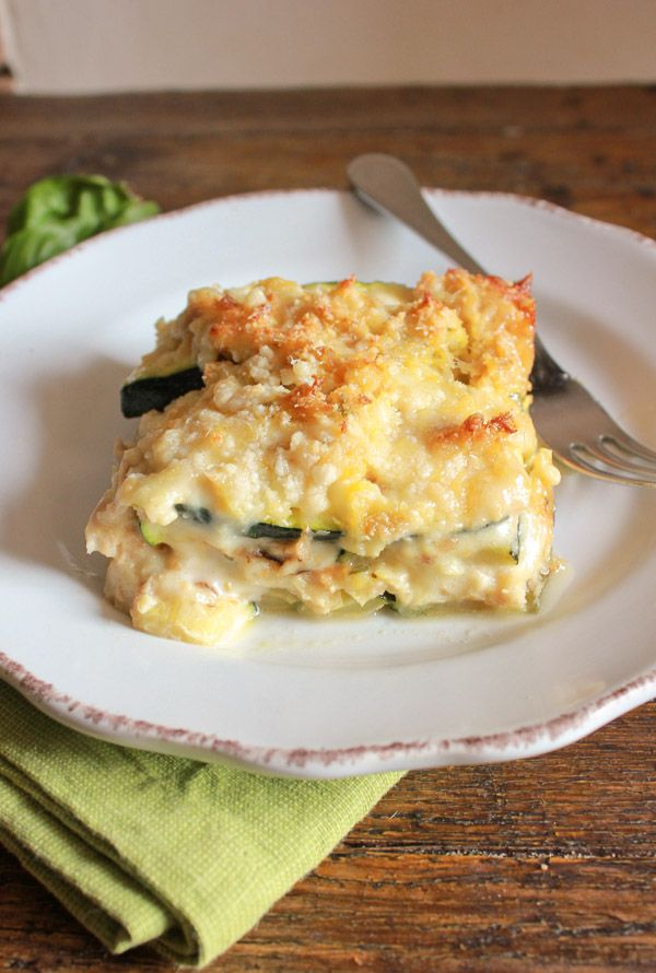 Grilled Zucchini Double Cheese Tuna Bake Recipe on Yummly. @yummly #recipe
