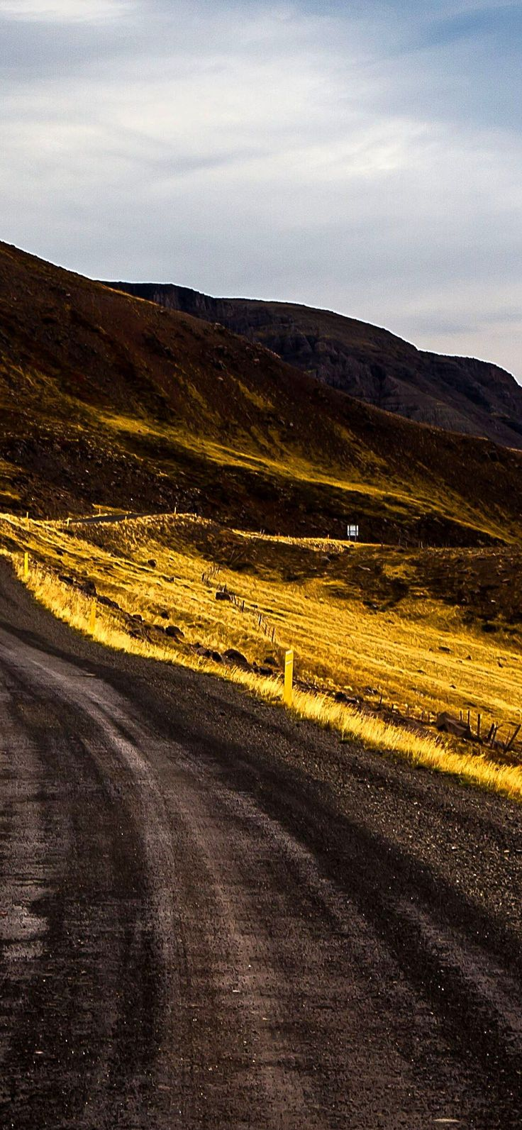 parte landscape photography road iceland wallpaper Iphone