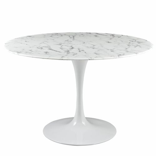 Modway Lippa 47 Dining Table In White Eei 1131 Whi In 2019