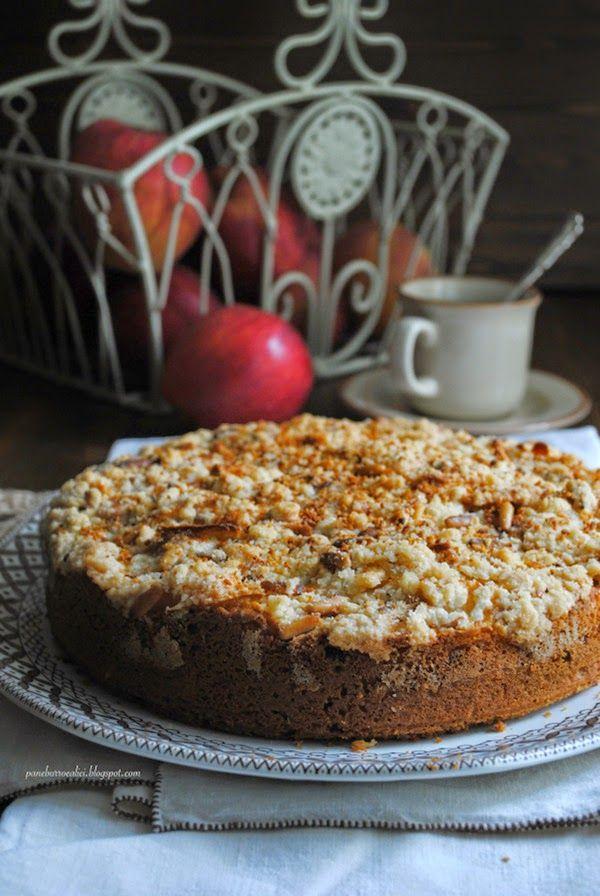 Pane, burro e alici: Torta di robiola e cioccolato con crumble di mele ...