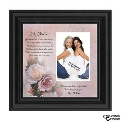 Love this personalized mother picture frame!