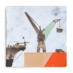 StoryTiles kunsttegels - Rotterdam - fan - haven - stad - groots - cadeau