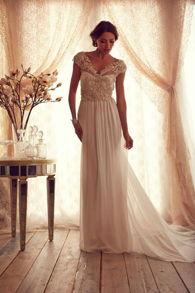 Stunning Wedding Dresses by Anna Campbell 2013